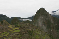 Machu Picchu Stonework Royalty Free Stock Photos