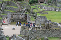 Machu Picchu Stonework Royalty Free Stock Images