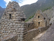 Machu Picchu street Stock Photography
