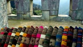 Machu Picchu - tapis et terrasses clips vidéos