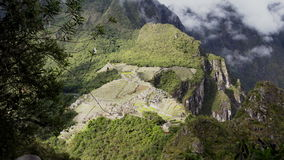 Machu Picchu Time Lapse 1 stock footage