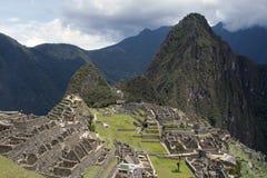 Machu Picchu und Wein Picchu Stockbild