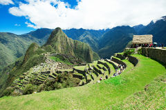 Machu Picchu. A UNESCO World Heritage Site Stock Photo