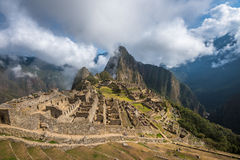 Machu Picchu, UNESCO World Heritage Site Royalty Free Stock Image