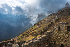 Machu Picchu, UNESCO World Heritage Site Royalty Free Stock Photography