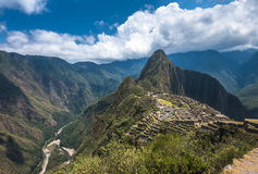 Machu Picchu, UNESCO World Heritage Site Stock Photos