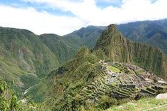 Machu Picchu and Urubamba valley. Peru Stock Images