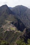 Machu Picchu - verticaal Royalty-vrije Stock Fotografie