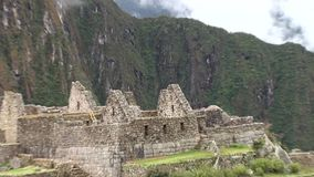 Machu Picchu stock video footage