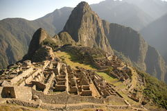 Machu Picchu  view from above Stock Images