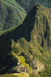 Machu Picchu view in early morning Stock Photography