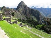 Machu Picchu view 3. View of Machu Picchu Peru 3 Stock Image