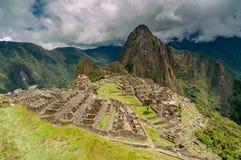 Machu Picchu View Stock Image