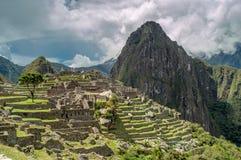 Machu Picchu View Stock Images