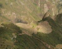 Machu Picchu vom Abstand Lizenzfreie Stockfotografie