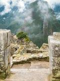 Machu Picchu von den verschiedenen Perspektiven Lizenzfreie Stockfotos