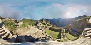 Machu Picchu - VR 360 banque de vidéos