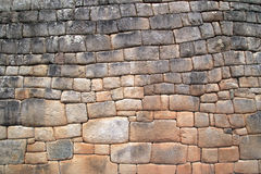 Machu Picchu Wall Royalty Free Stock Photo