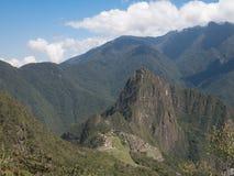 Machu Picchu widok od Machu Picchu góry Zdjęcie Stock