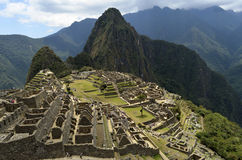 Machu Picchu, wonderworld, Peru Royalty-vrije Stock Foto's
