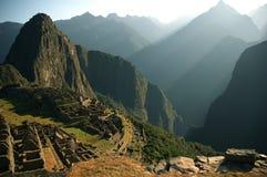 Machu Piccu ruins stock photography