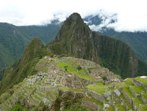 Machu Pichu。 免版税库存图片