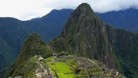 Machu Pichu和到的冒险那里 股票视频