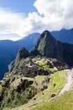 Machu Pichu在秘鲁 库存图片