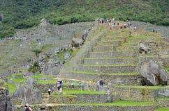 Machu Pichu, Перу Южная Америка Стоковые Изображения