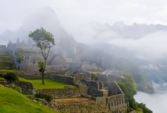 Machu Pichu Royalty Free Stock Photography