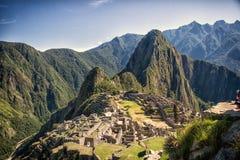 Machu Pichu Immagine Stock