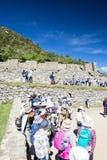Machu Pichu Fotografie Stock