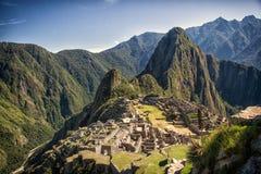 Machu Pichu Fotografie Stock Libere da Diritti