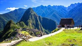 Machu Pichu Fotografia Stock Libera da Diritti