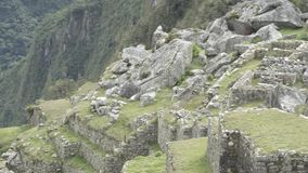 Machu Pichu and the adventure getting there. Through the trekking of Salkantay stock footage
