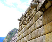 Machu Pichu ancient ruins. Detail. Stock Photography