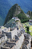 Machu pichu architecture Royalty Free Stock Images