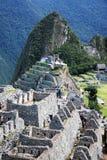 Machu pichu architecture royalty free stock images