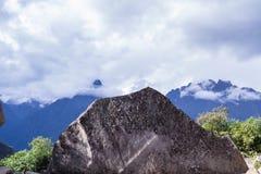 Machu Pichu nel Perù Fotografia Stock Libera da Diritti
