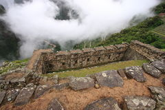 Machu Pichu. Perù america sud history inca cuzco lama  green Royalty Free Stock Photo