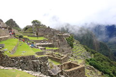 Machu Pichu Stock Photo