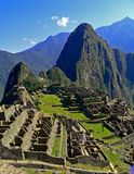 Machu Pichu Peru royaltyfri foto