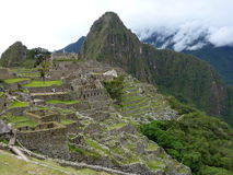Machu Pichu. In Machu Pichu, Peru stock image