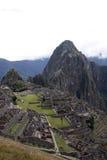 Machu Pichu, Peru. View of the archeological site of machu Pichu in Peru stock photography