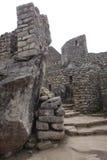 Machu Pichu, Peru. View of the archeological site of Machu Pichu in Peru royalty free stock photography