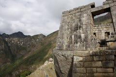 Machu Pichu, Peru. View of the archeological site of Machu Pichu in Peru royalty free stock photos