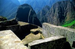 Machu Picchu from Peru Royalty Free Stock Photography
