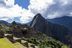 Machu Pichu in Peru Stock Image