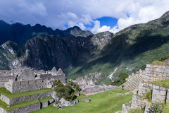 Machu Pichu in Peru Royalty Free Stock Photos