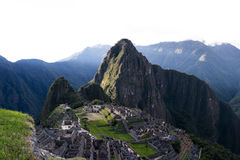 Machu Pichu in Peru Royalty Free Stock Photos